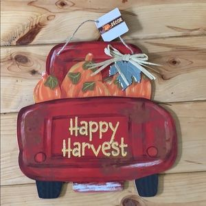 Fall Harvest Wall Sign